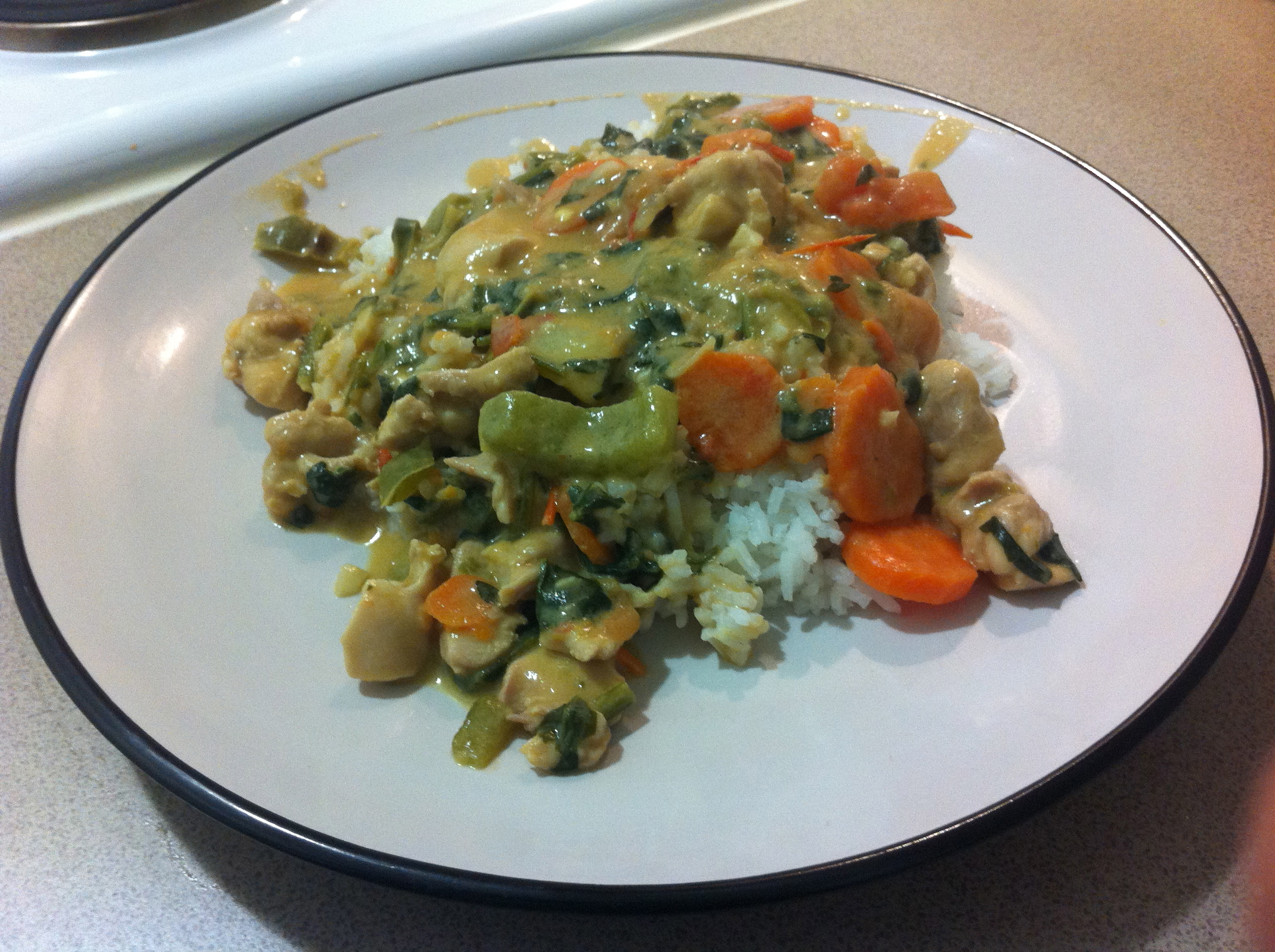 Zimbabwe dovi chicken and peanut butter stew with rice for Cuisine zimbabwe